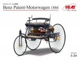24040 Benz Patent-Motorwagen 1886, Bausatz, 1:24