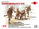 3315700 ICM: Turkich Infantry 1915-1918 (4 figures), Bausatz