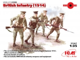 3315684, ICM: British Infantry 1914 in 1:35, 3315684, Bausatz