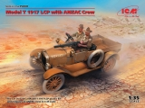 3315668 ICM: Model T 1917 LCP with ANZAC Crew in 1:35, 35668, Bausatz