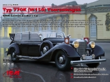 3315533 ICM: Typ 770K(W150) Tourenwagen WWII German Leaders Car in 1:35, 35533, Bausatz