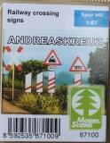 87100 Andreaskreuz Bausatz