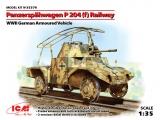 3315376 / 35376 Panzerspähwagen P204 (f) Railway, Bausatz