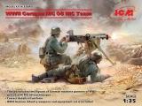 3315645 / 35645  WWII German MG08 MG Team (2 figures), Bausatz