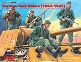 3315634 / 35634 German Tank Riders (1942-1945)(4Figures), Bausatz