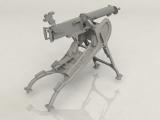 3315710 / 35710 German MG08 Machine Gun, Bausatz