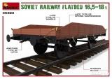 6465303 / 35303 Soviet Railway Flatbed 16,5-18 t, Bausatz