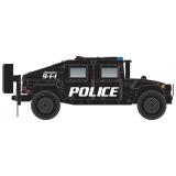 449 45 955 Police Humvee Vehicle 2-Pack