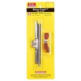 99040905 Z/Nn3, Anschlußgleis, Gerades Gleis 110 mm  w/ elektrischer Clip und Draht