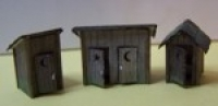 3010 N, Bausatz, Outhouses Holzlaserkit