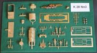 30064 Bausatz Nn3 K28 Messing mit Antrieb