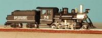 30085 RTR Nn3 2-8-0 #74 R.G.S.