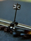21131 HO Weichensignal für Symetrische außenbogen Weichen Tillig