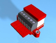 Adapter Packung mit 4 Stück (zum Betrieb motorischer Antriebe an Magnetartikeldecodern)