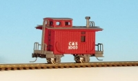 30053 Spur Nn3 RTR Colorado Southern 4 Wheel Caboose