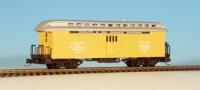 30075 RTR Nn3 Baggage Car gelb D&RGW